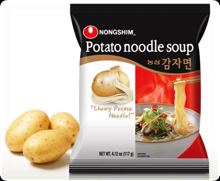 Nong Shim Potato Noodle 117g