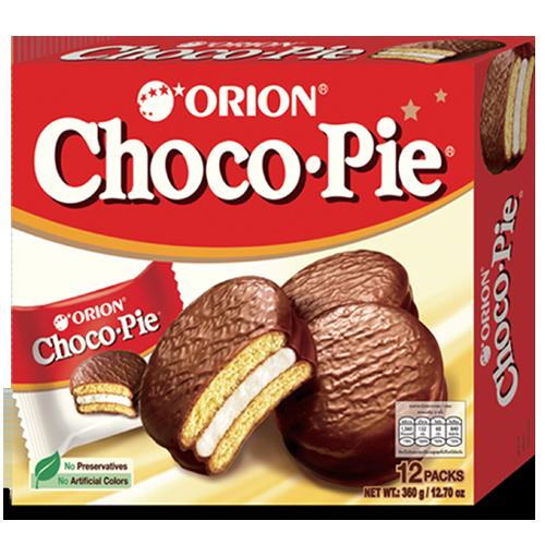 Orion Choco-Pie 12p 30g