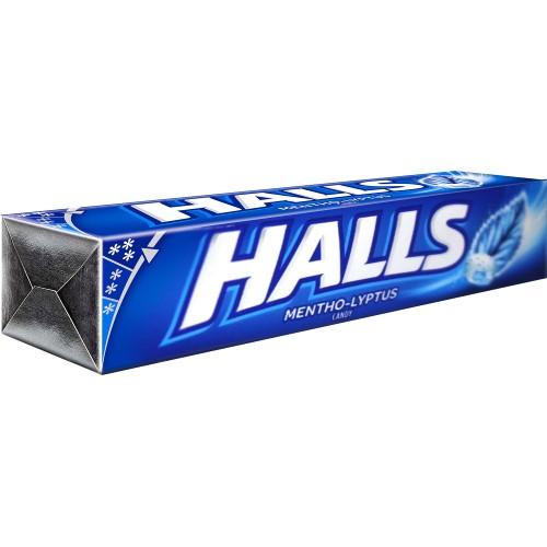 Halls Stick Menthol Candy - 27.9g (9'sx20pcsx12pack)
