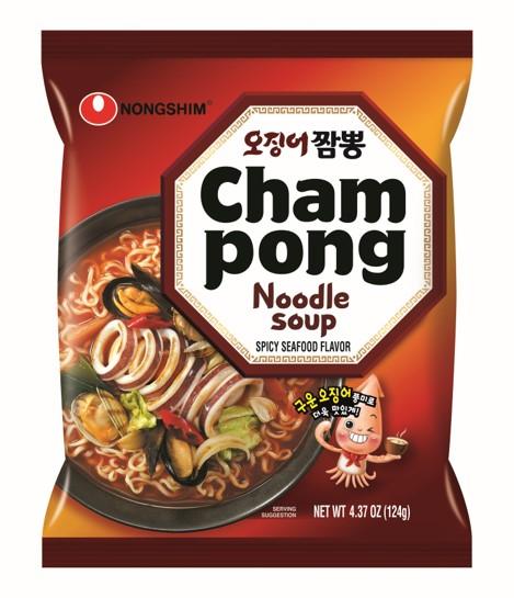 NONG SHIM Cham-Pong Noodle 124g