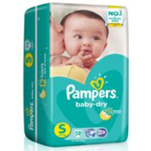Pampers Small Tape 82's