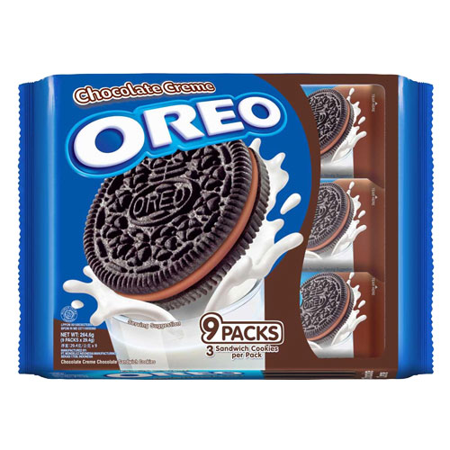 Oreo Sandwich Cookies Chocolate Cream-29.4gm