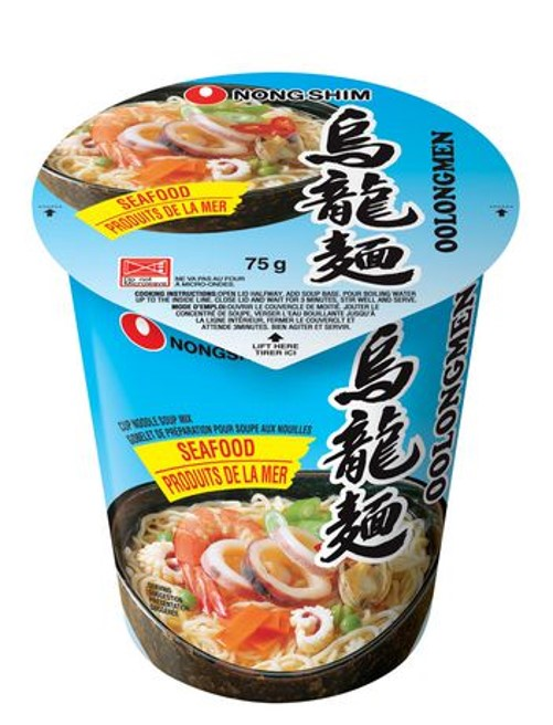 NONG SHIM Cup Noodle Artificial Seafood 75g