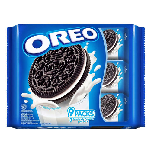 Oreo Sandwich Cookies Vanilla Cream-29.4gm