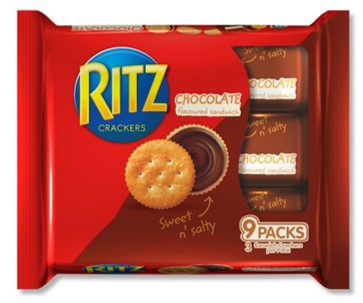 Ritz Sandwich Chocolate 243g
