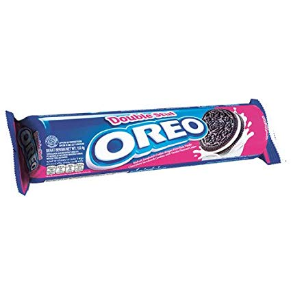 Oreo Sandwich Cookies Double Stuff Cream -152.4gm (1x24Pcs)