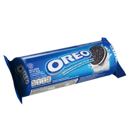Oreo Sandwich Cookies Vanilla Cream-68.5gm