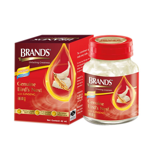 Brand's Bird's Nest with Ginseng(GBNSF) 1.5oz