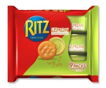 Ritz Sandwich Lemon 243g (1x12Packs)