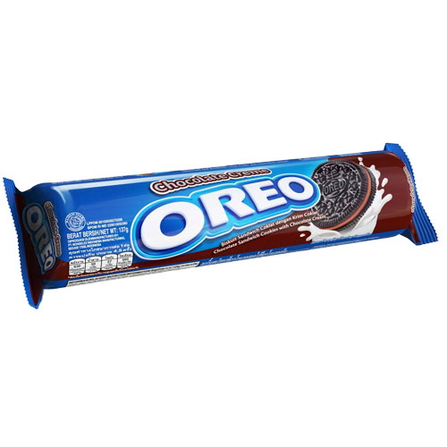 Oreo Sandwich Cookies Chocolate Cream-137gm