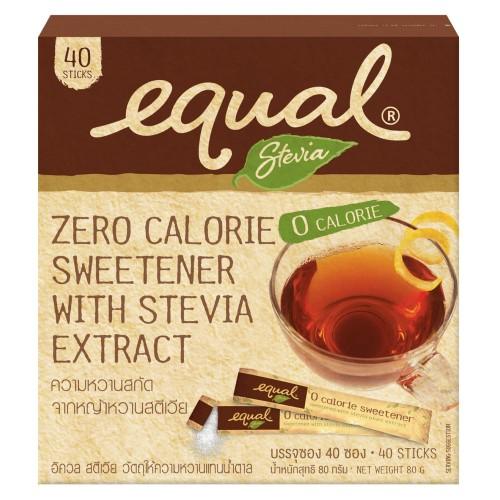 Equal Stevia 40`S 80g