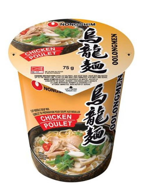 NONG SHIM Cup Noodle Artifical Chicken 75g