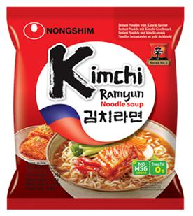 NONG SHIM Kimchi Ramen Noodle 120g