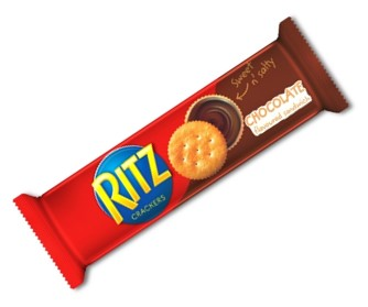 Ritz Sandwich Chocolate 118g (1x24Packs)