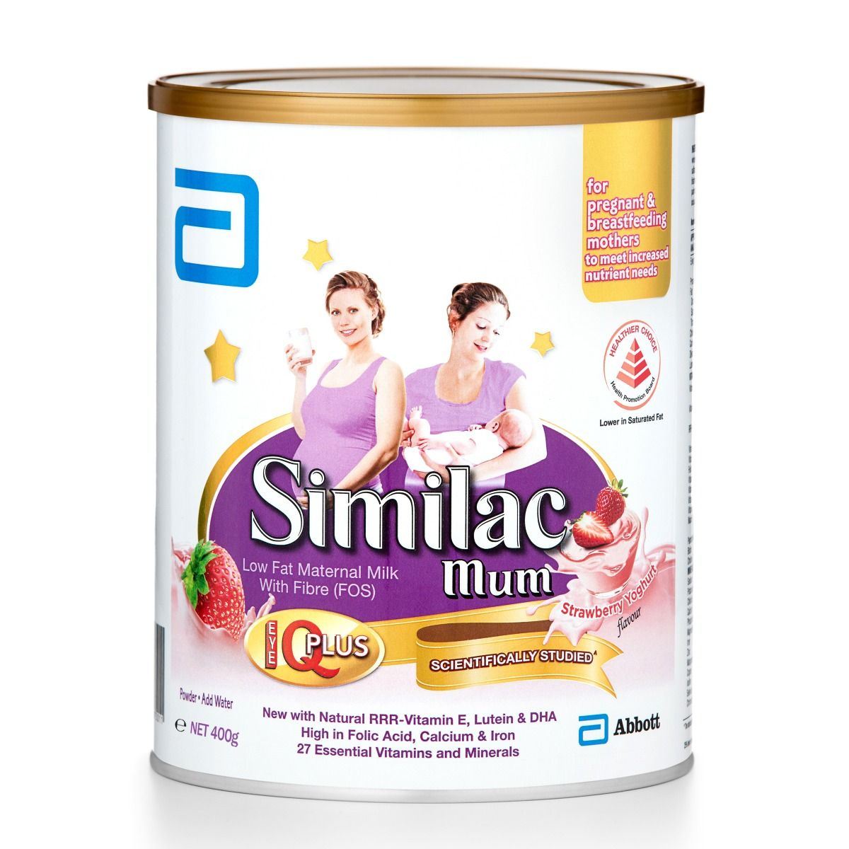 Similac Mum Eye-Q(IQ) Strawberry Yoghurt 400g