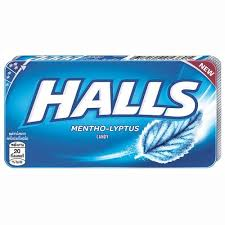 Halls Blister Menthol Candy - 22.4g (8'sx18pcsx20pack)