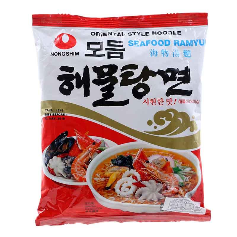 NONG SHIM Seafood Ramyun Noodle 125g